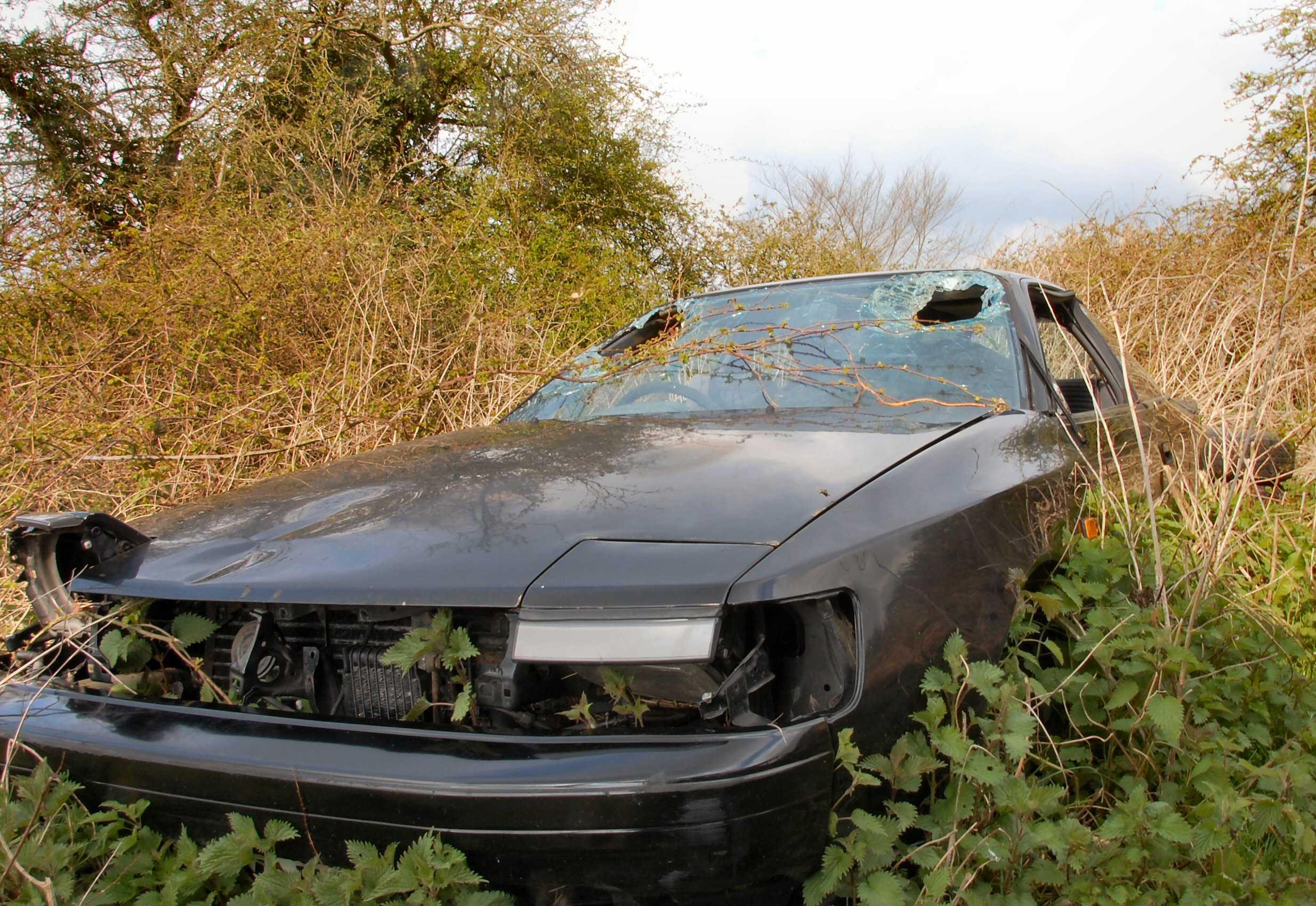 wreck car