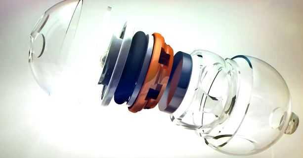 3D motion graphic speaker