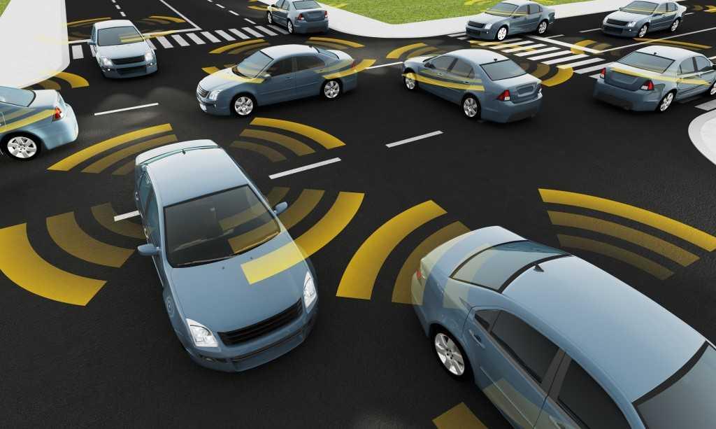 Driverless Car Concept