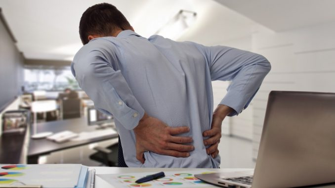 Man Having Lower Back Pain