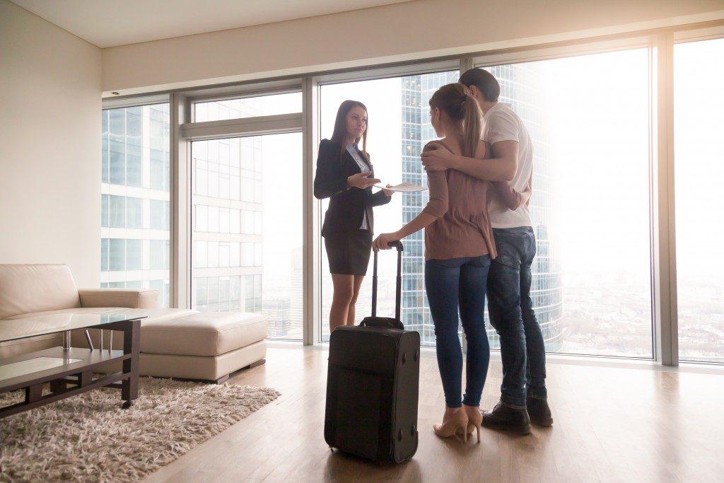 Renting an apartment unit