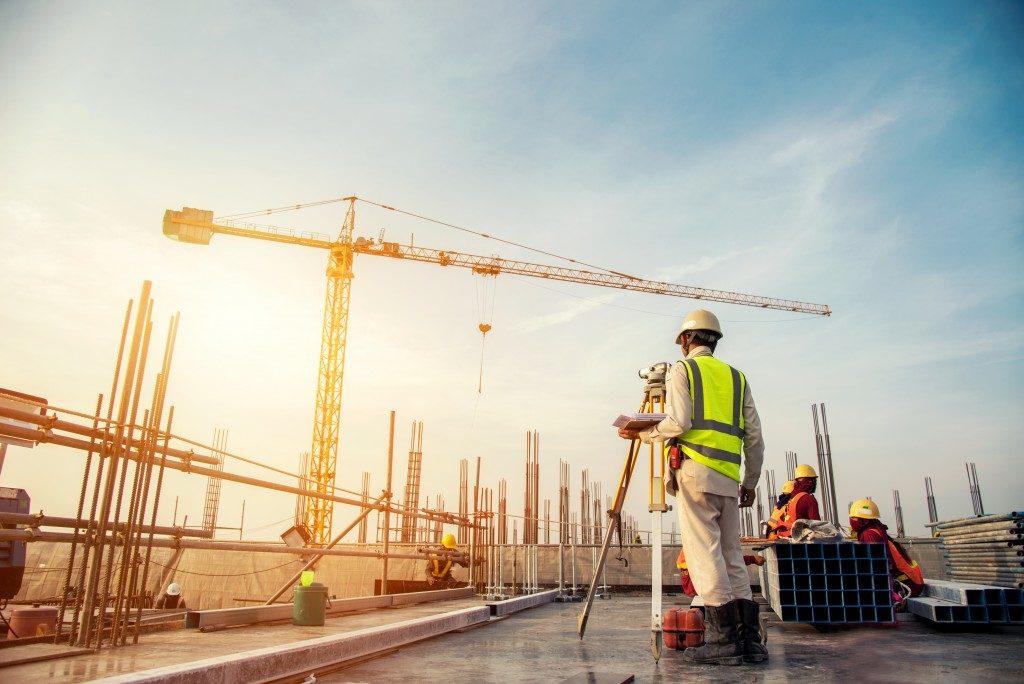 Construction on process