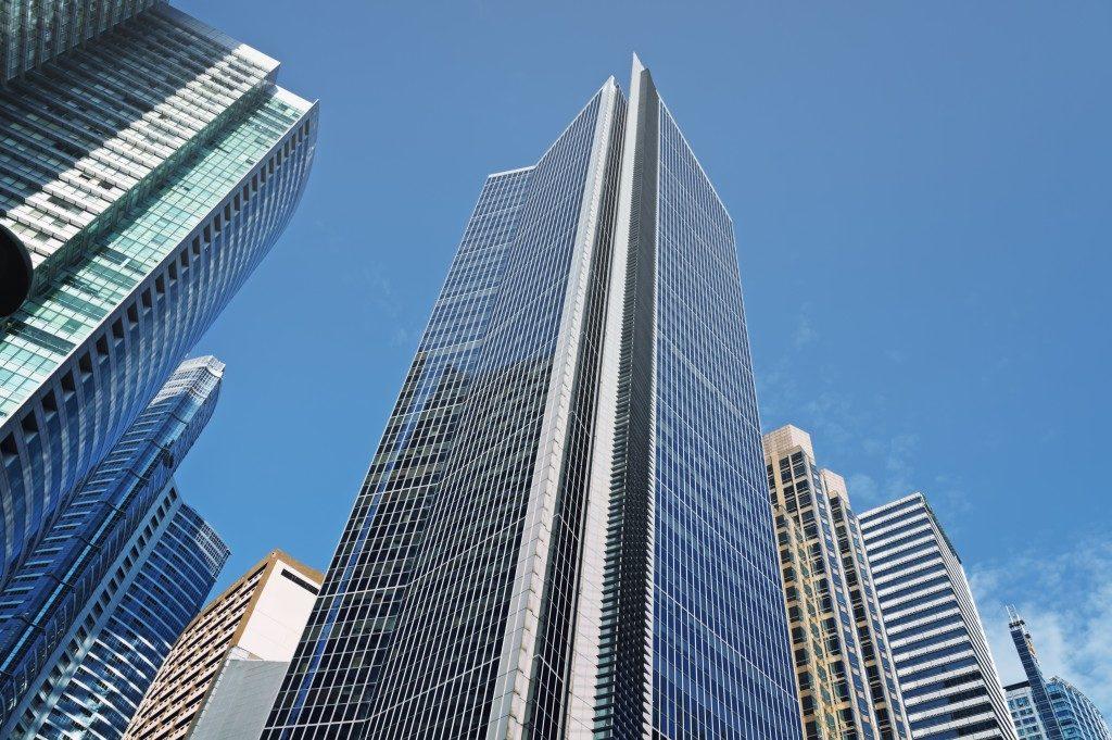 Office buildings in Makati