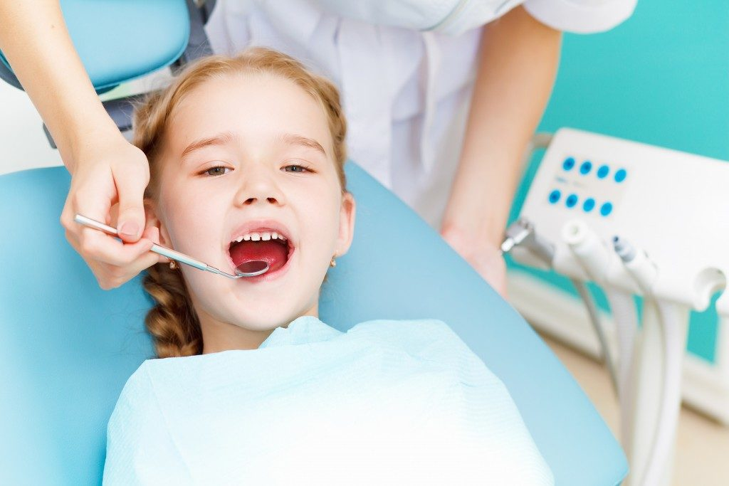 kid's dental check up