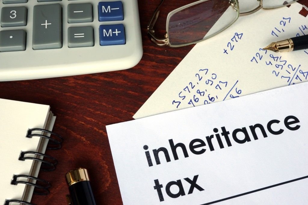 inheritance tax on paper