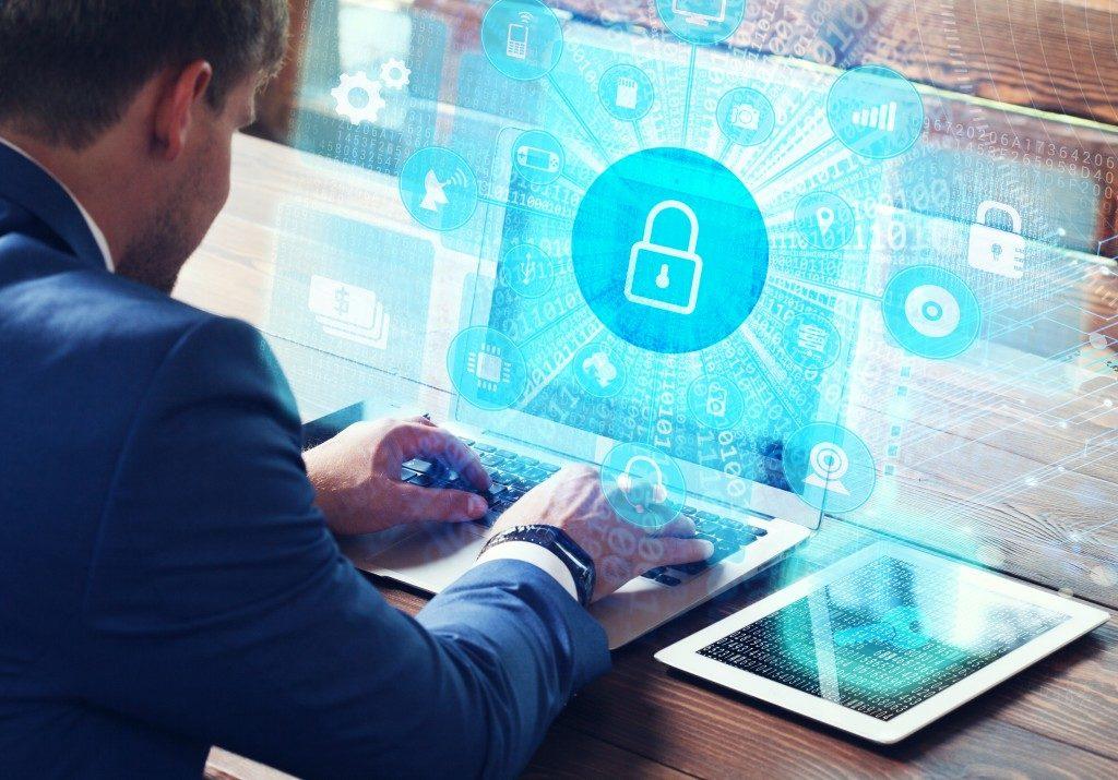 IT audit process of a business