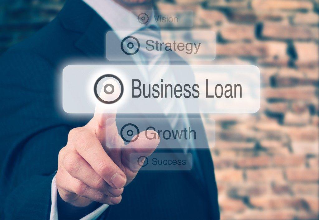 Business Loan concept