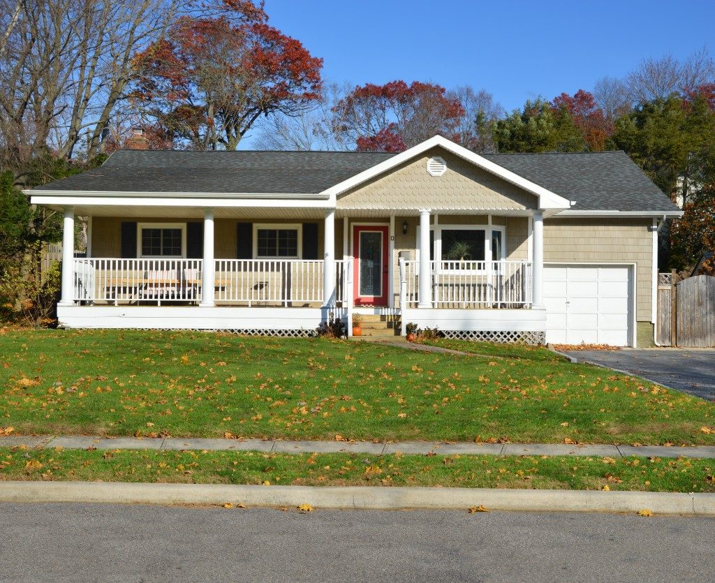 Suburban ranch style home