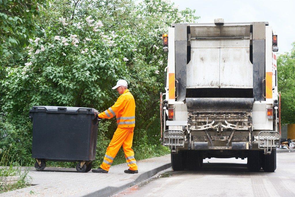 Garbage collector waste management