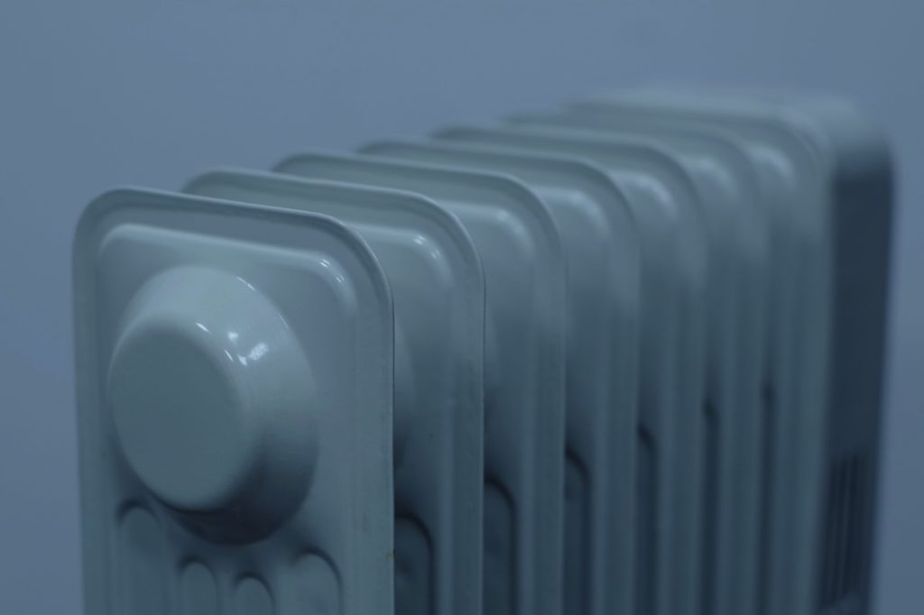 Close up of Heater