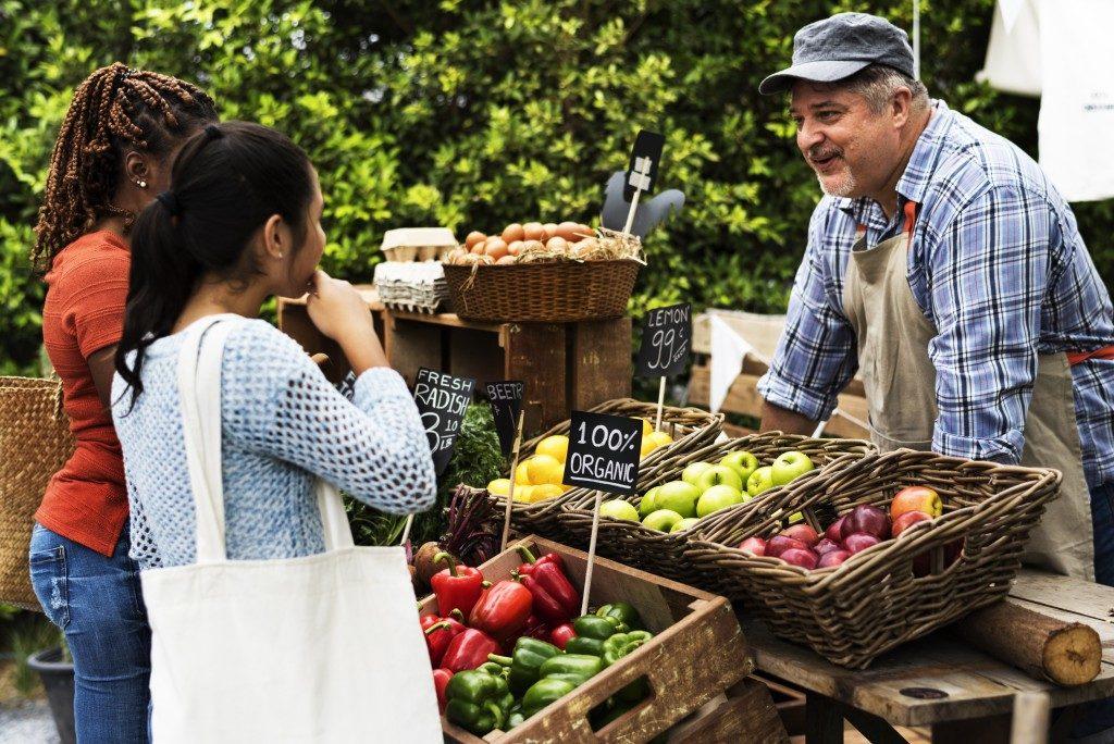 Local farmer's market