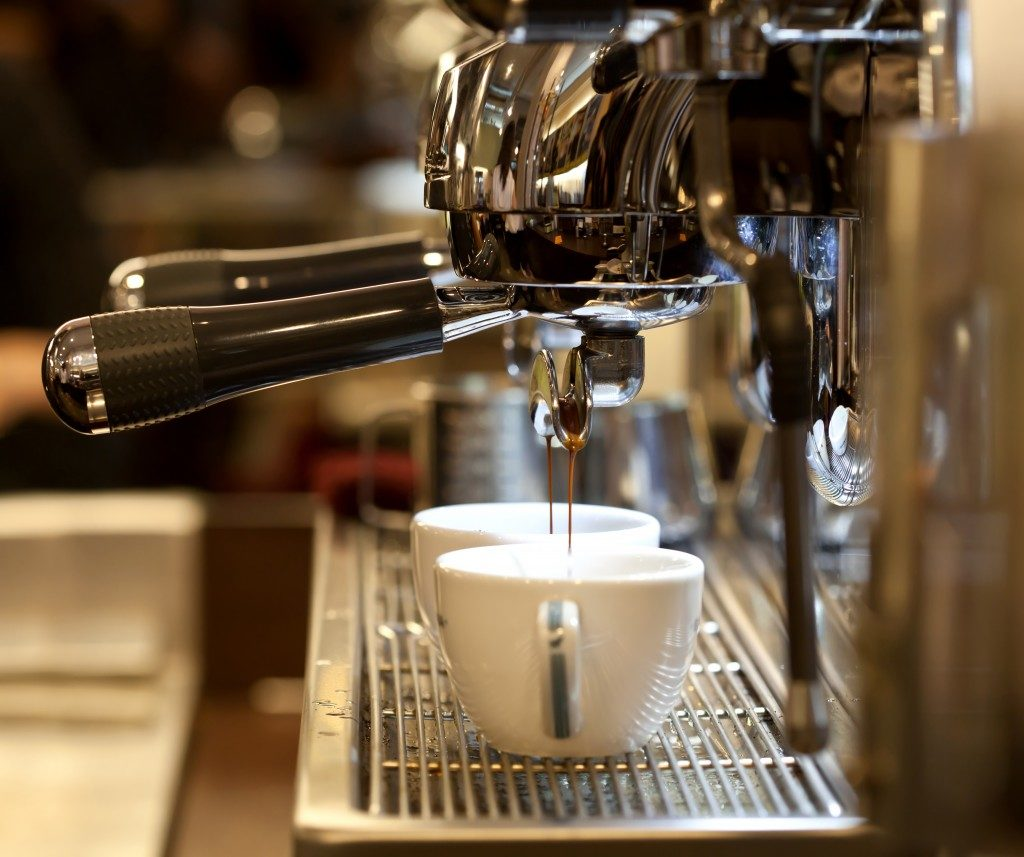 Getting espresso