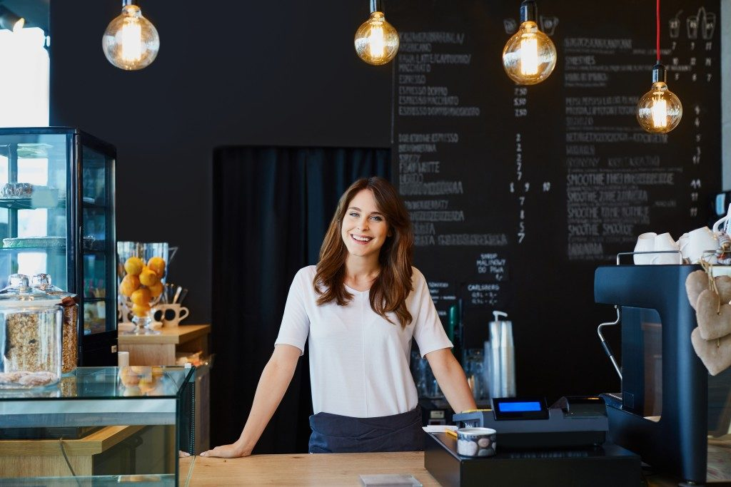 coffee shop business owner