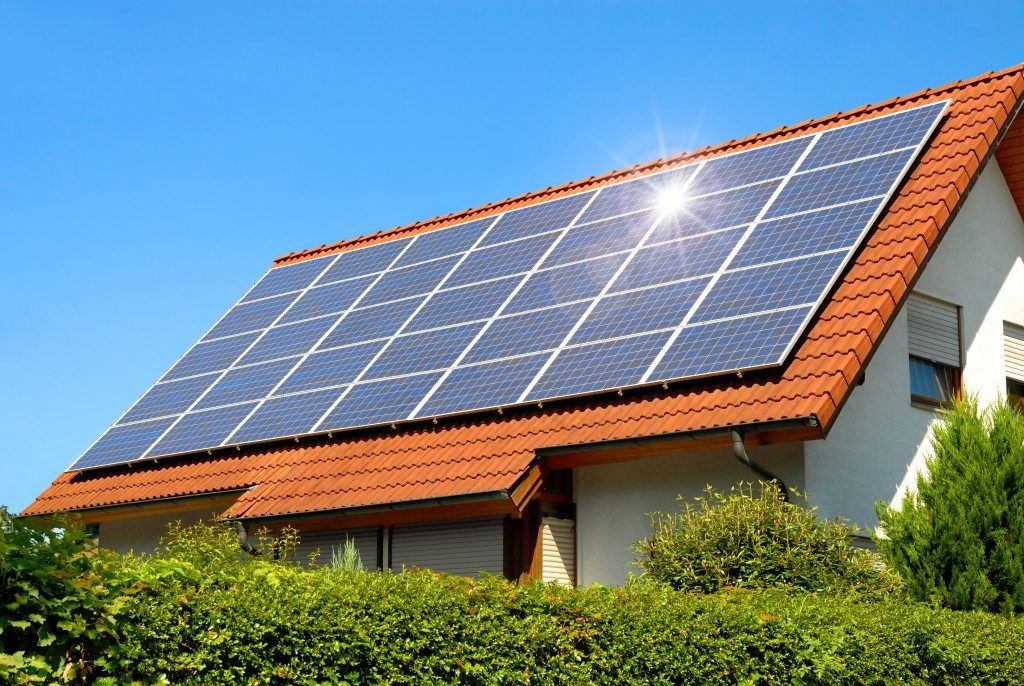 Solar power at home