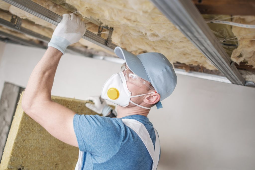 insulation installation at home