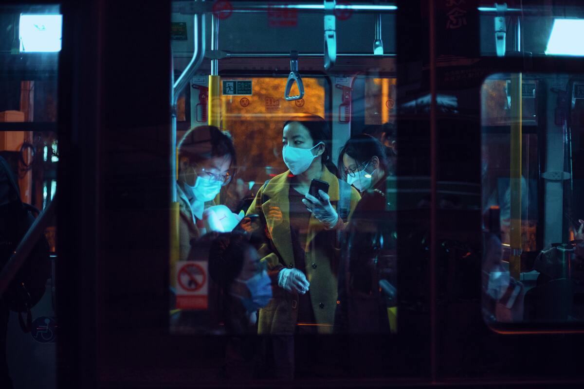 public transport during pandemic